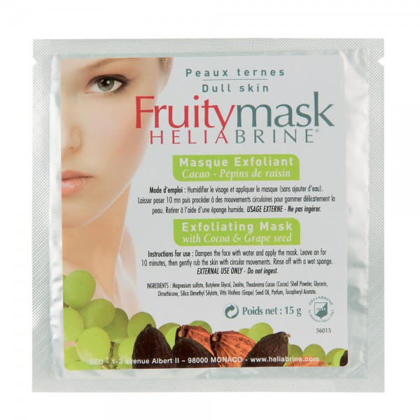 Heliabrine - Fruity Mask - Cocoa Peeling 15g